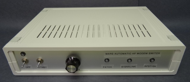 MARS Automated HF Modem Switch